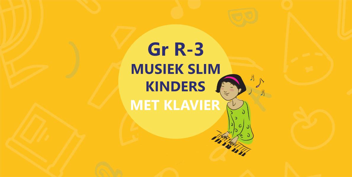 Musiek Slim Kinders met Klavier